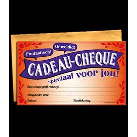 Gift Cheque Speciaal voor jou!