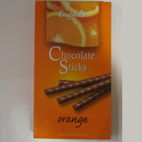 Chocolate sticks Orange