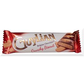 Guylian bar crunchy biscuits