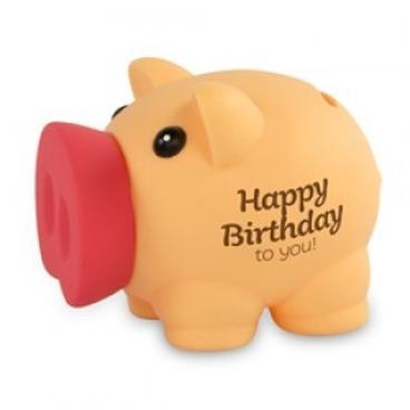 Spaarvarken Happy Birthday