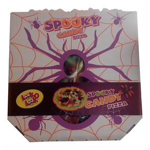 Spooky Candy Pizza