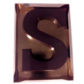 Chocoletter S suikervrij puur 200 gram