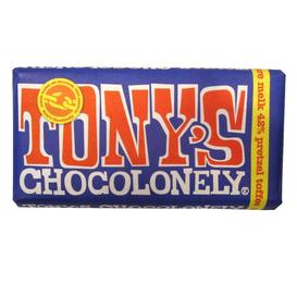 Tony's Donkere Melk 42% Pretzel Toffee