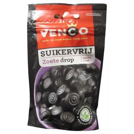 Venco Zoete Drop Suikervrij