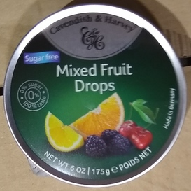 C&H Mixed Fruit Drops Suikervrij