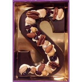 Luxe letter met noten