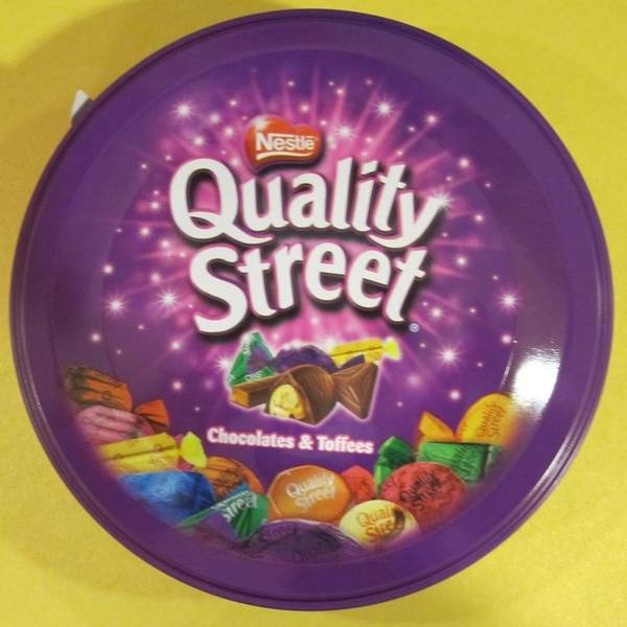 Quality Street blik