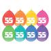 Ballonnen 55 jaar