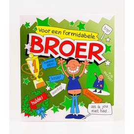 Wenskaart Broer