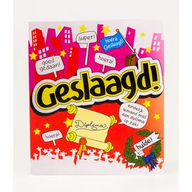 Wenskaart Geslaagd!