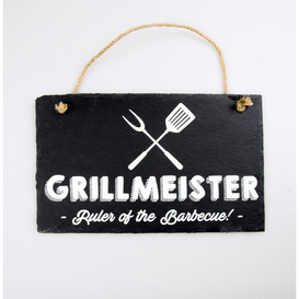 Stone Slogan Grillmeister