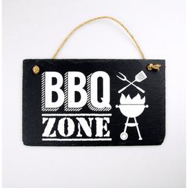 Stone Slogan BBQ Zone