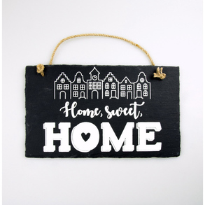 Stone Slogan Home, sweet, home