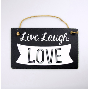 Stone Slogan Live, Laugh, Love