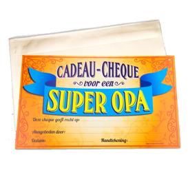 Gift Cheque Super Opa