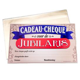 Gift Cheque Jubilaris