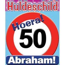 Huldeschild 50 Abraham