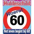 Huldeschild 60 jaar