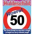 Huldeschild 50 jaar