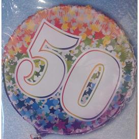 Heliumballon 50 jaar