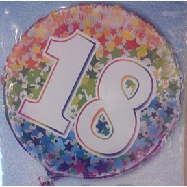 Heliumballon 18 jaar