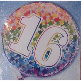 Heliumballon 16 jaar