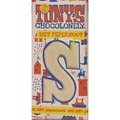 Tony's S Wit  Pepernoot chocolade letter