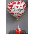 Hartballon met 250 gram bonbons