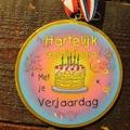 Medaille verjaardag
