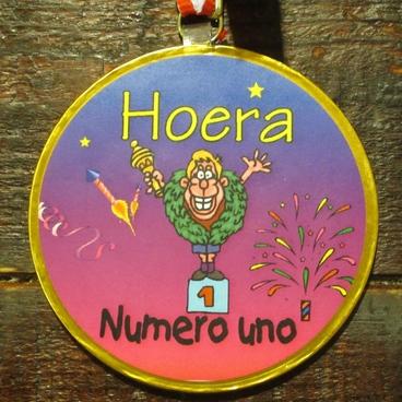 Medaille numero uno