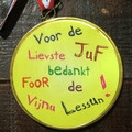 Medaille juf