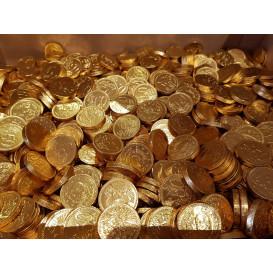 Chocolade munten 1000 gram