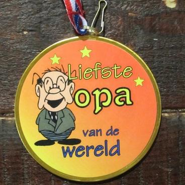 Medaille opa