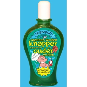 Fun Shampoo man ouder knapper