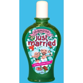 Fun Shampoo Just married