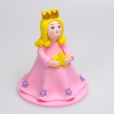 Roze Prinses topper Claydough