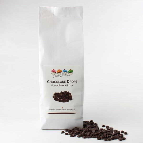 Chocolade drops puur 400g