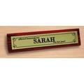 Desk sign Sarah