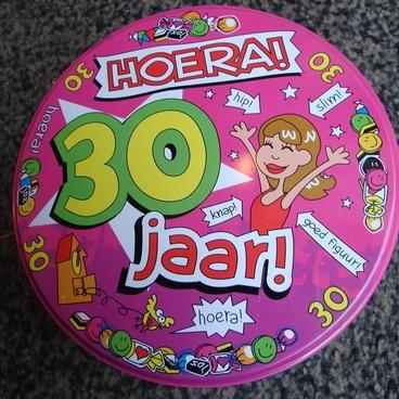 Snoepblik 30 jaar vrouw