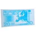 Eetbaar 20 euro biljet