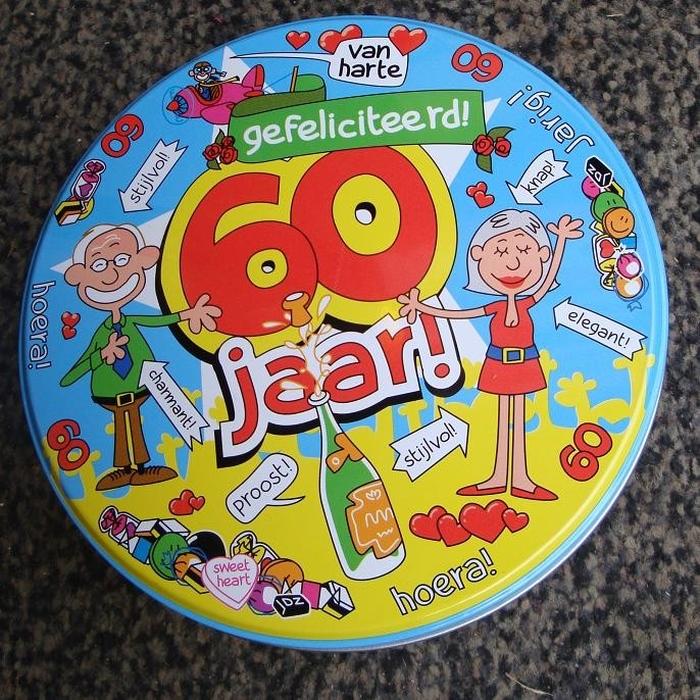 60 jaar verjaardag ideeen Leuke kado ideeën voor mensen die 60 jaar worden   Topsnoep.nl 60 jaar verjaardag ideeen