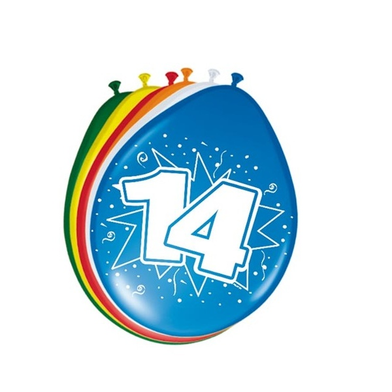 Ballonnen 14 jaar