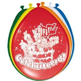 Ballonnen Gefeliciteerd