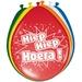 Ballonnen Hiep Hiep Hoera