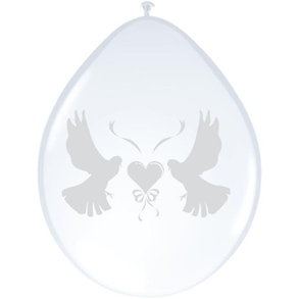 Ballonnen Hart en duiven