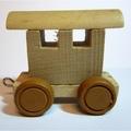 Treinletter wagon