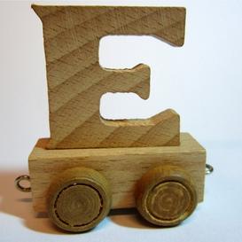 Treinletter E