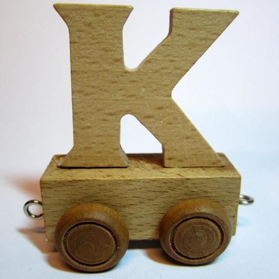 Treinletter K
