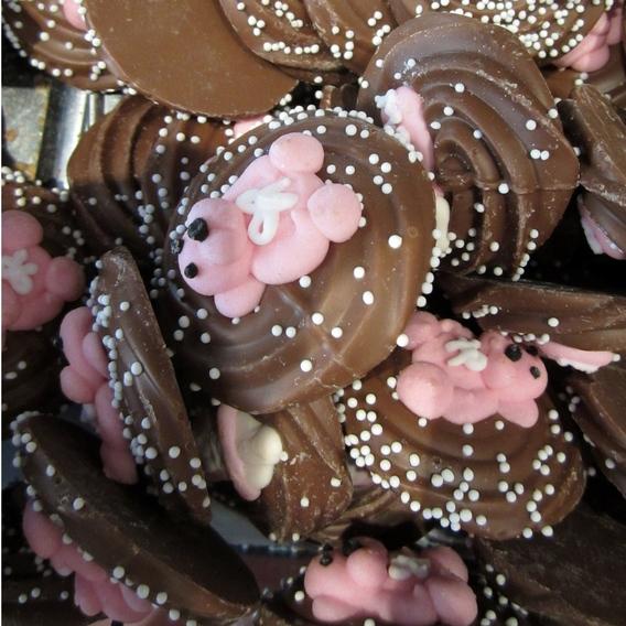 Geboortebeertjes roze