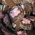 Geboortebeertjes roze 100 gram